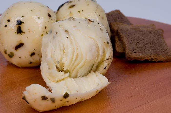 Mozzarella bolinha com Tempero